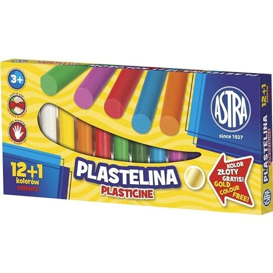 Plastelina, 13 kolorów - 12+1 gratis (305354)